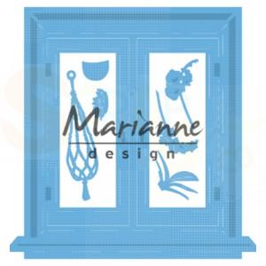LR0583, creatable Marianne Design, Tiny's window