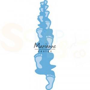 LR0598, creatable Marianne Design, voetafdrukken