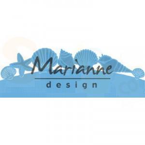LR0601, creatable Marianne Design, Zeeschelpenrand