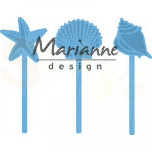 LR0602, creatable Marianne Design, Zeeschelpen pins