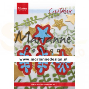LR0634, creatable Marianne Design, Christmas Green
