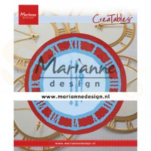 LR0636, creatable Marianne Design, Klok, tijd