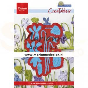 LR0649, creatable Marianne Design, Petra's violets