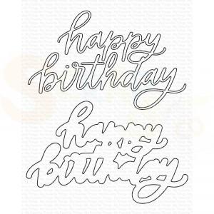 MFT-2048 My Favorite Things Dienamics, Happy Birthday