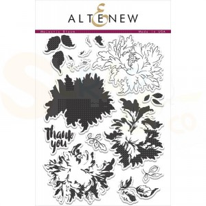 Altenew, clearstamp Majestic bloom
