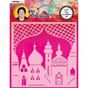StudioLight, art by Marlene - mask Artsy Arabia nr. 09 MASKBM09