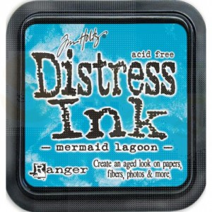 Distress mini ink pad Mermaid Lagoon