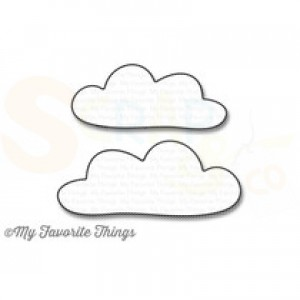 MFT-1036 My Favorite Things Die-namics, Cloud no. 9
