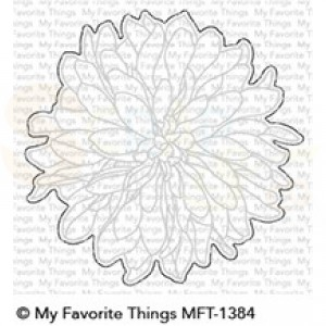 MFT-1384 My Favorite Things Die-namics, Beautiful Bloom