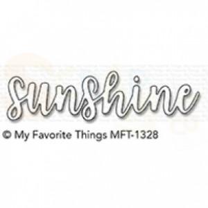 MFT-1328 My Favorite Things Die-namics, Sunshine