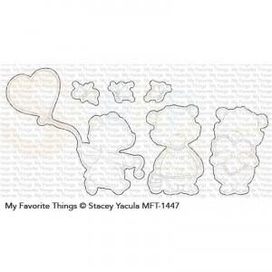 MFT-1447 My Favorite Things Die-namics, Joyful Heart Bears