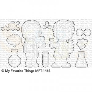 MFT-1463 My Favorite Things Die-namics, BB Cute Chemists