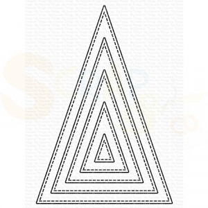 MFT-2106 My Favorite Things Dienamics, Stitched Tall Triangle STAX