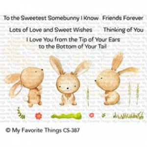 CS-387 My Favorite Things clearstempel, Sweetest Somebunny