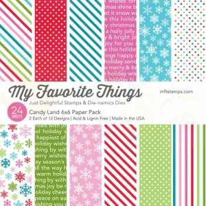EP-56 My Favorite Things Paper pack 6x6 inch, Candy Land