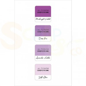 Altenew, Shades of Purple mini cube set ALT1246