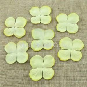 Bloemen medium cream hydrangra 3,5 cm MKX244