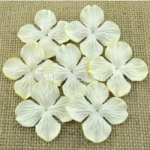 Bloemen deep ivory hydrangra 3,5 cm MKX694