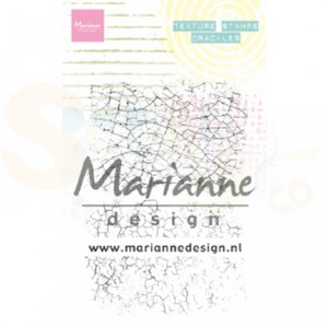 MM1628, clearstamp Marianne Design, Texture - crackles
