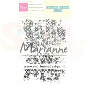 MM1629, clearstamp Marianne Design, Texture - tiles