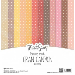 Elizabeth Craft Designs, paperpack MSC020, Grand Canyon