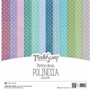 Elizabeth Craft Designs, paperpack TAPPP12, Polinesia
