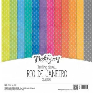 Elizabeth Craft Designs, paperpack MSC024, Rio de Janeiro