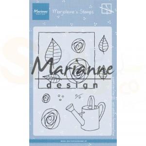 MZ1901 clearstamp Marianne Design, Marjoleine's roses