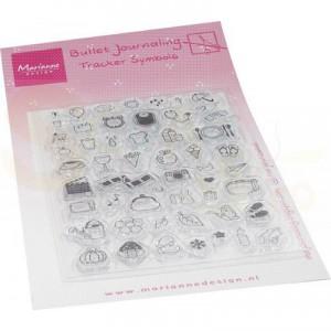 MZ1909, clearstamp Marianne Design, Tracker Symbols