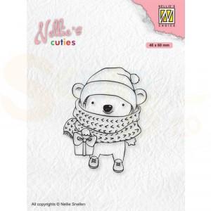 Nellie's Choice, clearstamp Christmas Cuties, Koala NCCS012