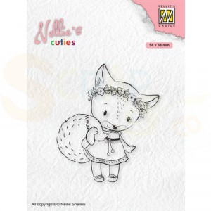 Nellie's Choice, clearstamp Christmas Cuties, Vos NCCS014