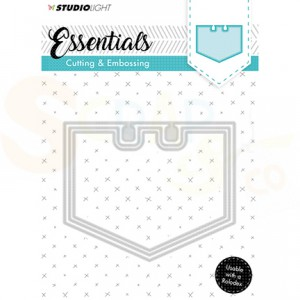 StudioLight Embossing die cut stencil Essentials STENCILSL122