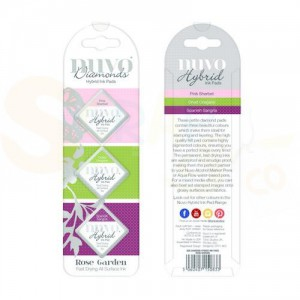 Nuvo Diamond hybrid ink pads, rose garden 83N