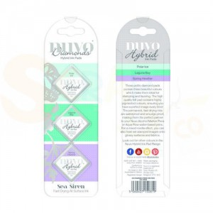 Nuvo Diamond hybrid ink pads, sea siren 81N
