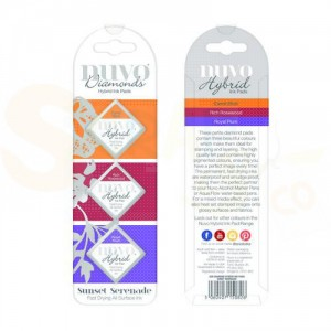 Nuvo Diamond hybrid ink pads, sunset serenade 82N
