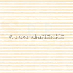 Alexandra Renke, designpapier 10.2290, Stripes yellow