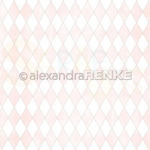 Alexandra Renke, designpapier 10.2293, Big Diamonds pink