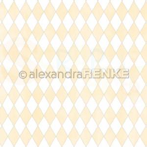 Alexandra Renke, designpapier 10.2294, Big Diamonds yellow