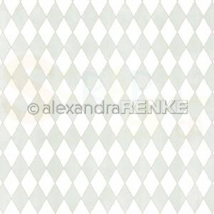 Alexandra Renke, designpapier 10.2295, Big Diamonds mint