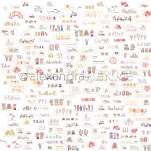 Alexandra Renke, designpapier 10.2296, Summer washi Tear-offs