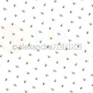Alexandra Renke, designpapier 10.2342, Folk Art Little Bees