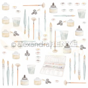 Alexandra Renke, designpapier 10.2364, Brushes and Colors