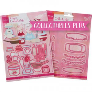 PA4129, Marianne Design, Collectable PLUS Baking Fun