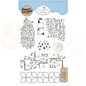 Elizabeth Craft Designs, clearstamp CS125, Patterns 2