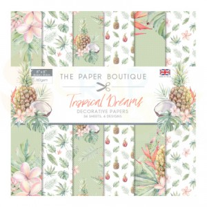 The Paper Boutique, paperpad 8 inch, Tropical Dreams PB1192