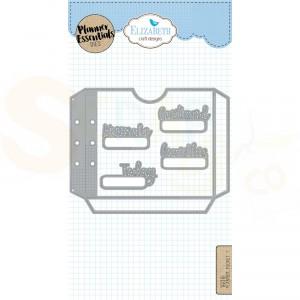 Elizabeth Craft Designs, Planner Essentials, Pocket 1