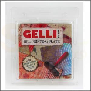 Gelli Arts, Gel Printing Plate 6x6 inch  / 15 x 15 cm