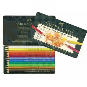 Faber Castell kleurpotloden Poloychromos etui 12 stuks