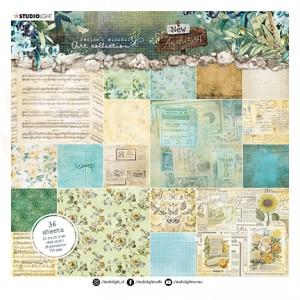 StudioLight, JMA paperpad 20x20 cm backgrounds New Awakening nr.02 JMA-NA-PP02