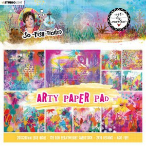 StudioLight, Art by Marlene - paperpad So-Fish-Ticated ABM-SFT-PP03